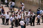 Bar Mitzvah au mur des lamentations, Jérusalem, Israël