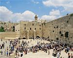 Mur des lamentations, Jérusalem, Israël