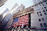 Bourse de New York, New York City, New York, États-Unis