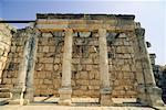 Synagogue at Capernaum, Tiberiade, Israel