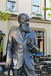 Statue de George Bernard Shaw, à Niagara-On-The-Lake, Ontario, Canada