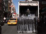 Man Unloading Truck, Little Italy, New York City, New York, USA