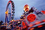 Amusement Park, Oktoberfest, Munich, Bavaria, Germany