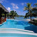 Piscine à Le Touessrok Resort, Ile Maurice, l'océan Indien