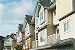 Houses in Suburbs, Richmond, British Columbia, Canada