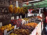 Fruit Stand in Chinatown, New York, New York, USA