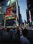 Times Square, Broadway, New York, New York, USA