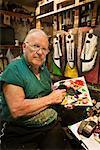 Pro Hart, Painter, Broken Hill, New South Wales, Australia