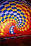 Intérieur du ballon à Air chaud