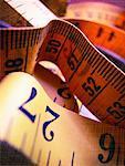 Tissu ruban à mesurer