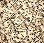 Tableau des billets d'un dollar dix