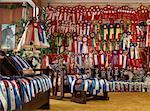 Room With Many Award Ribbons