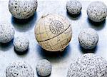 Globe and Stones