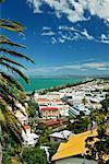 Vue de Napier, Bay, Nouvelle-Zélande Hawke
