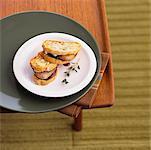 Foie Gras on Toast With Raspberry Jam