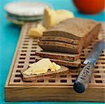 Cheddar Cheese on Rye Bread