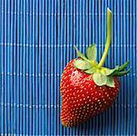 Gros plan de fraise