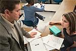 Teacher Returning Assignment To Student