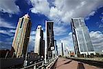Skyline Along Sheikh Zayed Road, Dubai, United Arab Emirates