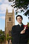 Portrait de diplômé, University Of Toronto, Toronto, Ontario, Canada