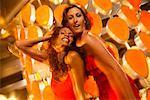 Women Dancing in Nightclub