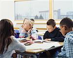 Children in Classrom