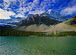 Bow Lake, Banff National Park, Alberta, Canada