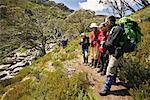 Randonnée Tour, Parc National de Kosciuszko, New South Wales, Australie