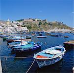 Coricella Harbour, Procida, Naples, Italy