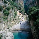Vallée de Furore, Salerne, Amalfi, Italie