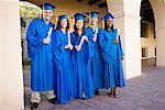 Portrait de groupe des diplômés