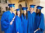 Group Portrait of Graduates