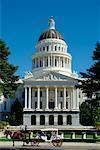 Capitole de Californie, Sacramento, Californie, USA