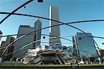 Pritzker Pavilion, Millennium Park, Chicago, Illinois, USA