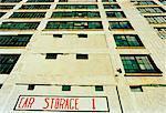Warehouse and Parking Garage, Detroit, Michigan, USA