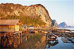 Village de Ko Panyi, baie de Phang Nga, Thaïlande