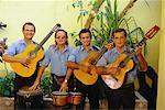 Portrait of Musicians, Camaguey, Cuba