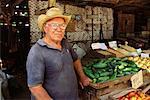 Portrait of Man at Market, Camaguey, Cuba