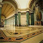 Intérieur du bâtiment du Capitole, la Havane, Cuba