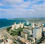 Paysage urbain, la Havane, Cuba