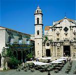 Plaza de la Catedral, la Havane, Cuba