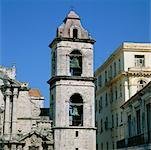 Bell Tower, la Catedral de la Habana, la Havane, Cuba