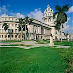 Capitole national, la Havane, Cuba