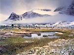 Point de surprise, vallée Tonquin, Parc National Jasper, Alberta, Canada