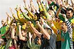 Menge Jubel bei sportlichen Ereignis