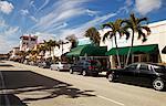 Shopping District, West Palm Beach, Florida, USA