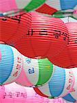 Korean Lanterns Celebrating the Birthday of Buddha