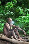 Man At Yakel Custom Village, Tanna, Vanuatu