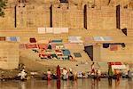 Nos gens au Gange, Varanasi, Uttar Pradesh, Inde