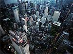 Antenne de Midtown Manhattan, New York City, New York, Etats-Unis d'Amérique